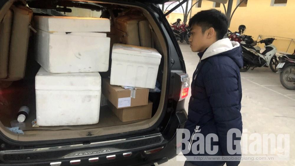 Phát hiện hàng trăm liều vắc-xin không rõ nguồn gốc ở Bắc Giang